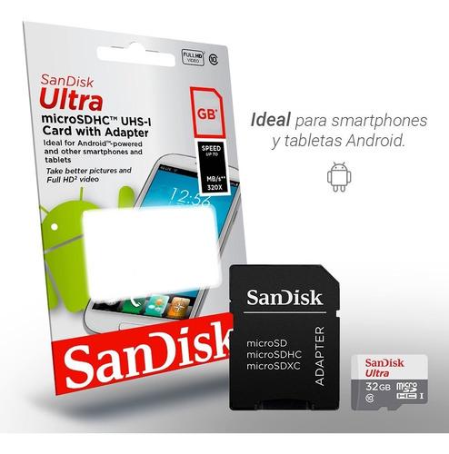 micro 32gb memoria memoria sandisk celular