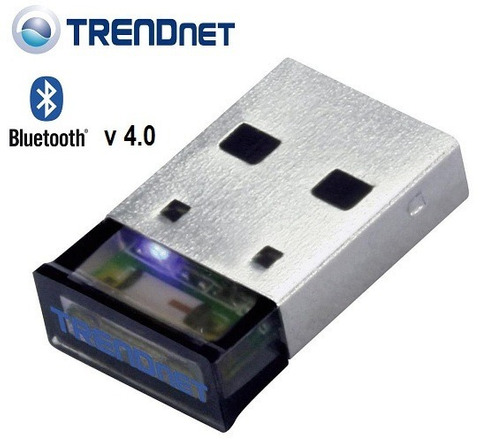 micro adaptador bluetooth v4.0 usb trendnet plug & play 10mt