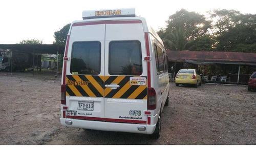 micro bus mercedes-benz blanco motor 2.1
