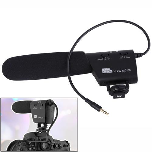 micro cine camara pixel mc-50 voical para reflex digital