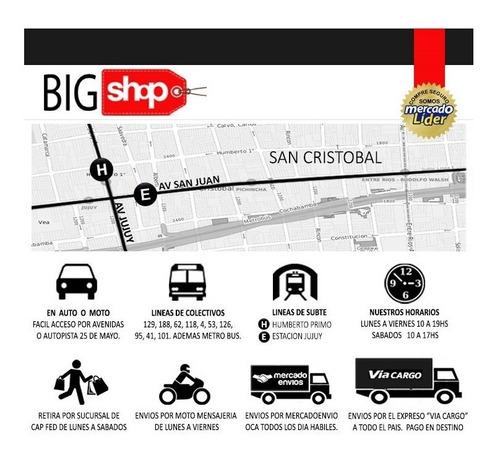 micro colectivo bus teamsterz abre puerta 18cm 14022 bigshop