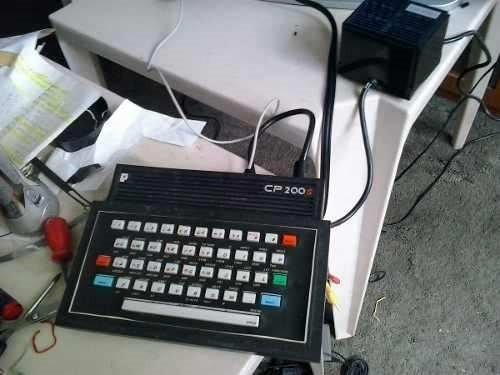 micro computador cp 200s pc game antigo computador cp 200s