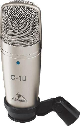 micro condensador c1u usb behringer para pc laptop estudio,