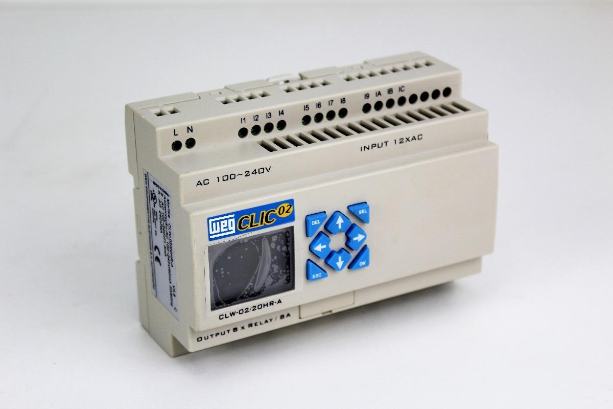 b2259cda9ab micro controlador programável relé clic clw-02 20hr-a. Carregando zoom.