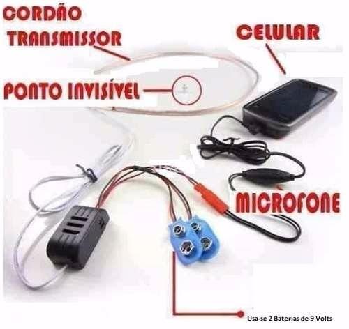micro escuta espiã ponto eletrônico de ouvido invisível g.6