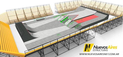 micro estadio movil de usos multiples tribunas gradas