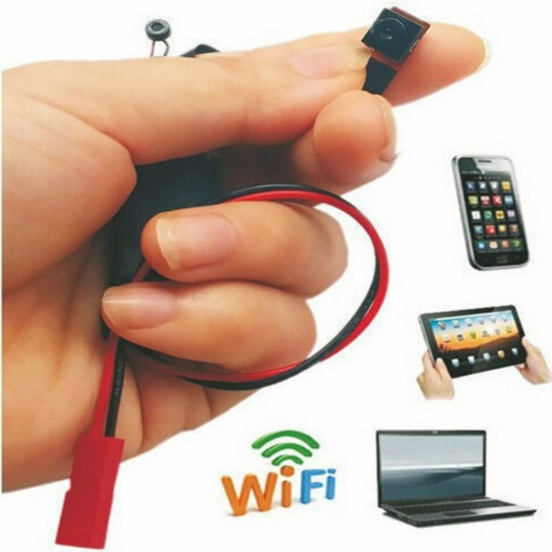 Micro filmadora c mera espi wifi ou ip android iphone pc for Microcamera wifi per iphone e android