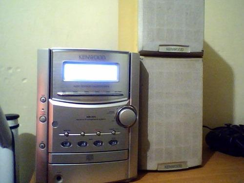 micro hi fi component system kenwood