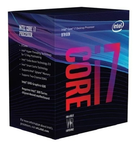 micro intel i7 8700k (1151) 3.7 ghz