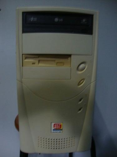 micro intel pentium 3 550mhz - 450gb manual e cd de instal