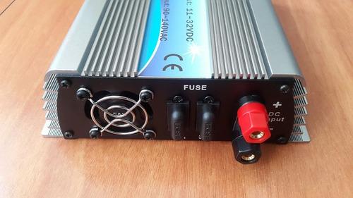 micro inversor a red , sistema solar, 600 watt grid tie