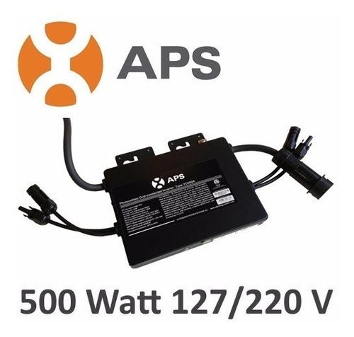 micro inversor aps para sistemas interconexion cfe 500w 220v