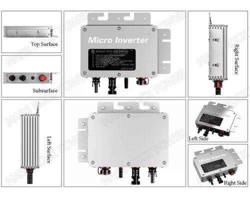 micro inversor panel solar 300w wvc300 interconexion cfe