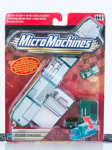 micro machines pit stop challenge