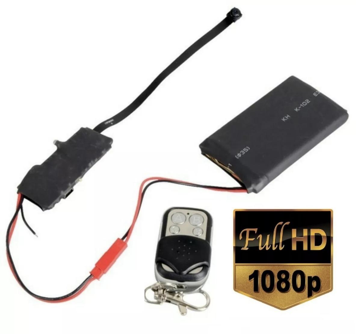 mini cámara espia alta resolución control remoto