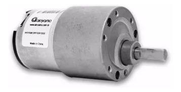 micro motor dc c/ cx redut. 12v 13rpm 15,0kgf.cm + fonte 12v