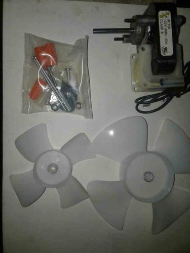 micro motor ventilador nevera universal aspas13.5cm y 9.5cm
