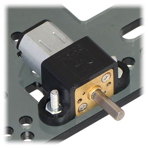 micro motorreductor pololu hp robotica electronica