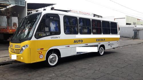 micro ônibus auto escola 7.20 mts 2011 - só 64.990