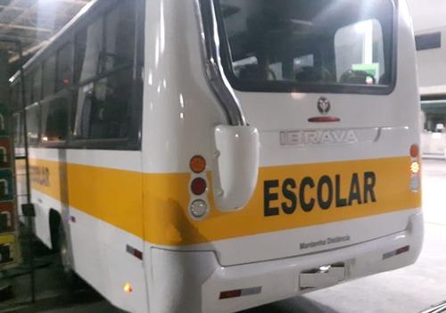 micro ônibus escolar ibrava - 31 lugares 2011 pronta entrega