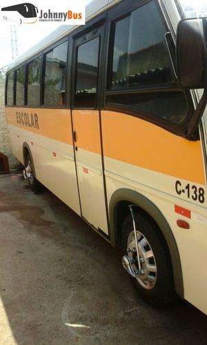 micro ônibus escolar volare w8 - ano 2006 - johnnybus