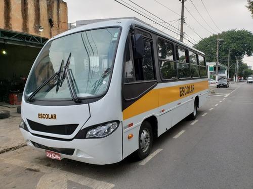 micro ônibus ibrava escolar 2011 - 45 lugares - so 74.990