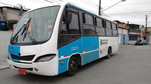 micro ônibus ibrava vw9150 2010/11 2p 23lug.revisado aurovel