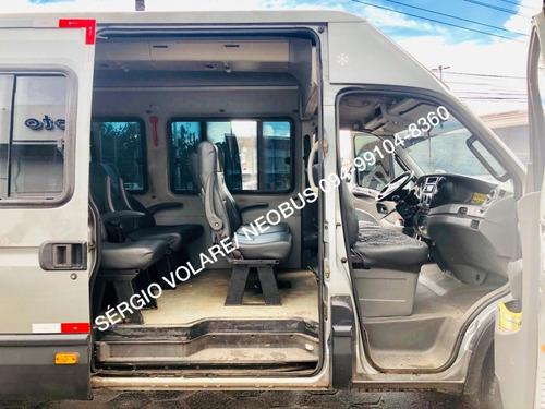micro ônibus iveco daily 55 c17 greencar executivo 14/14