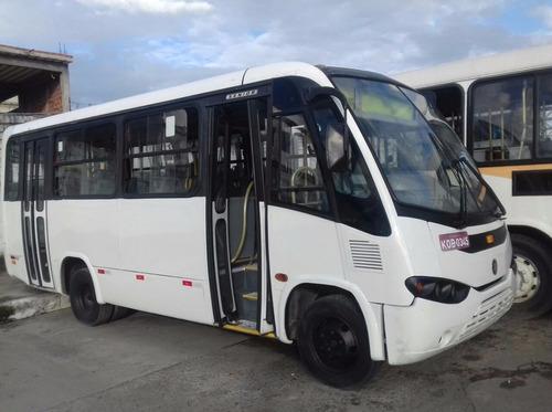 micro ônibus marcopolo senior mercedes lo 915 27 lugares