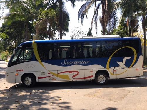 micro ônibus marcopolo volks 9-150 2008 único dono completo