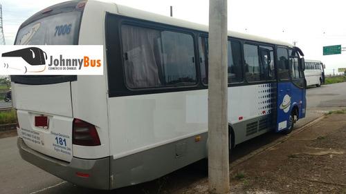 micro ônibus mascarello gramini ano 2004 johnnybus