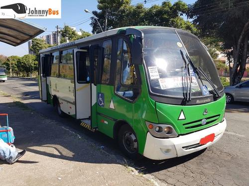 micro ônibus mascarello grand micro - ano 2008 - johnnybus