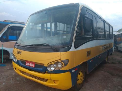 micro ônibus mb comil piá