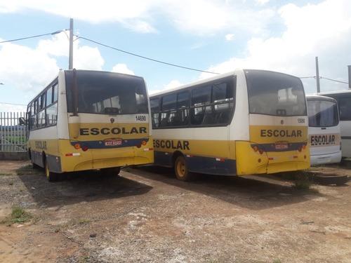 micro ônibus mwm 9-150 caio piccolo ano 2002 25l