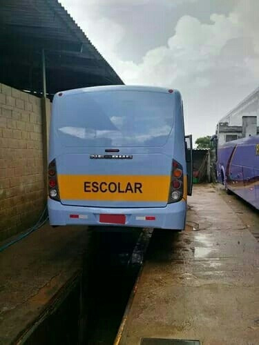 micro ônibus neobus ano 2008 mercedes lo812 32 lugares