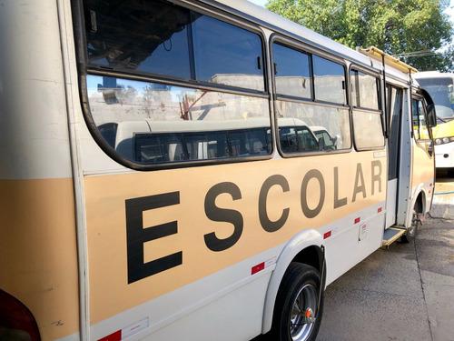 micro ônibus neobus vw escolar com elevador 21 lug 2003