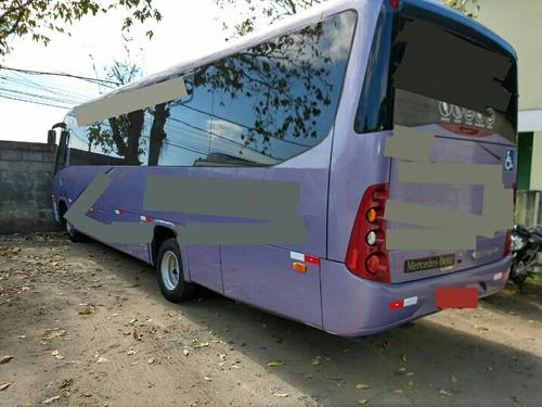 micro ônibus rodoviario completo ar cond  e geladeira