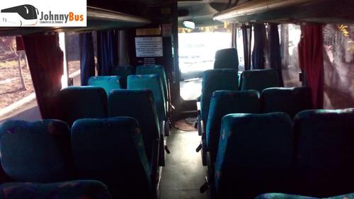 micro ônibus rodoviário marcopolo senior ano 2003 johnnybus