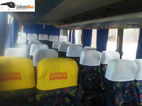 micro ônibus rodoviário marcopolo senior ano 2005 jonnybus