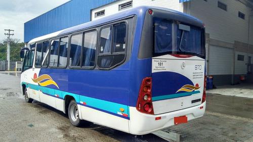 micro ônibus rodoviário marcopolo senior ano 2007 johnnybus
