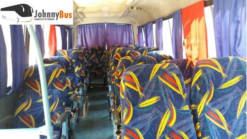 micro ônibus rodoviário volare a8 ano 2001 - johnnybus