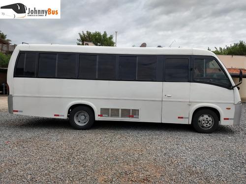 micro ônibus rodoviário volare v8 - ano 2008/09 - johnnybus