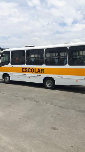 micro ônibus thunder + escolar 33 lugares - 2005 - só 57000