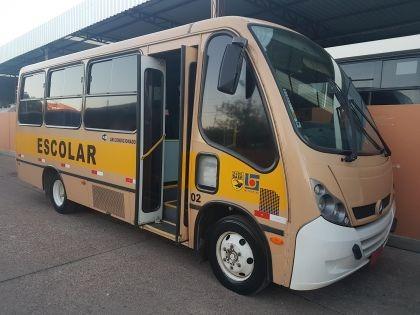 micro ônibus urbano neobus 2005, 22 lug, ar teto, r$ 72 mil