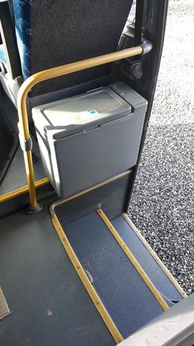 micro ônibus volare c/ susp pneumática
