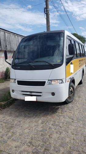 micro ônibus volare escolar lotacao 2002 com 23 passageiros