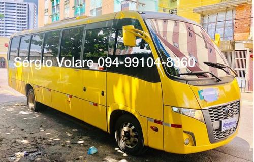micro ônibus volare fly 9 executivo amarela 2014/2014
