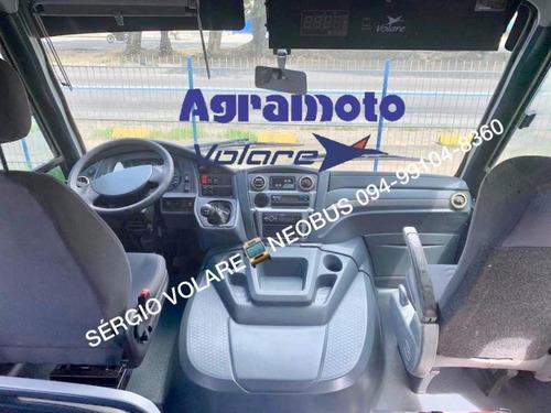 micro ônibus volare w7 executivo cor branca ano 2013/2013