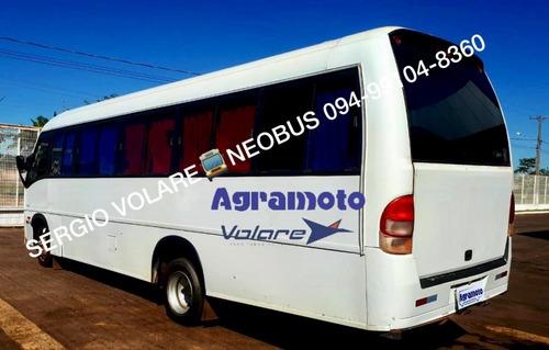micro ônibus volare w8 executivo cor branca ano 2011/2011