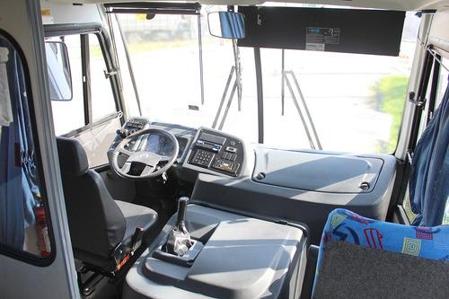 micro-ônibus vw mascarello granmini 2015 = volare mb